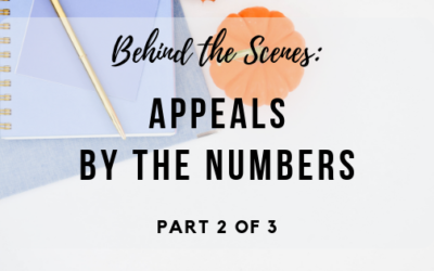 Behind the Scenes: Appeals by the Numbers