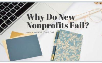 Why do new Nonprofits fail?
