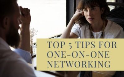 Top 5 Tips for One-on-One Networking