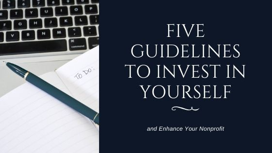 Five Guidelines to Invest in Yourself