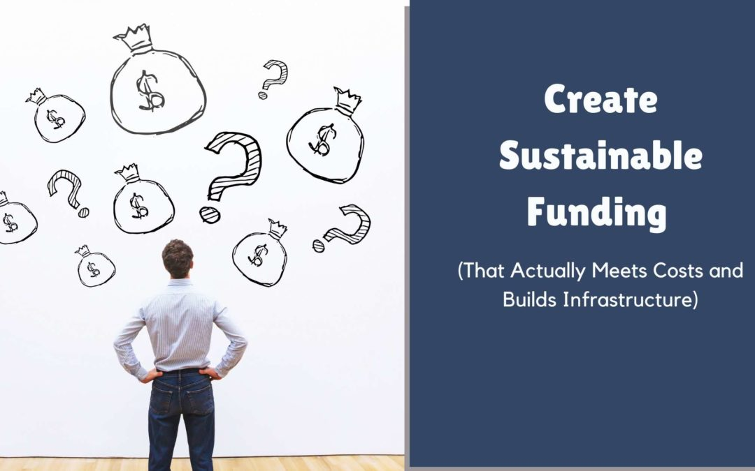 Create Sustainable Funding That Actually Meets Costs and Builds Infrastructure